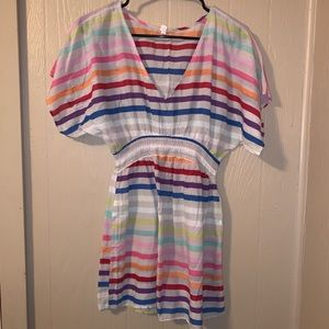 Striped colorful dress!